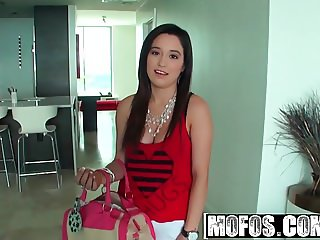 Mofos - Latina Sex Tapes - Tangerine Titty Sling Surprise st
