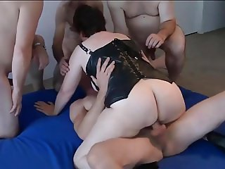 huge ass of dutch BBW gets pounded and fucked deep and hard