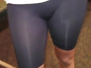 Cameltoe and ass