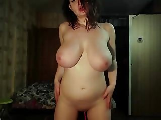 #1 amazing slim and stacked big boobs with natural tits