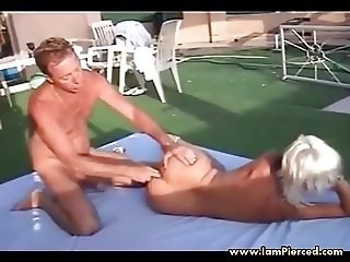 I am Pierced french cougar pierced nipples and pussy anal