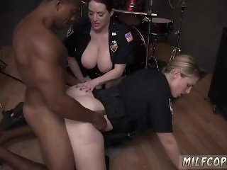 Cruel girls Raw movie takes hold of cop