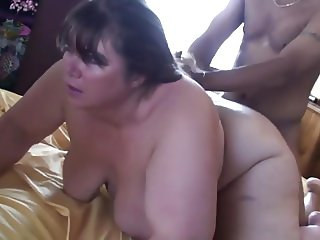 Cheating fat wife with black lover