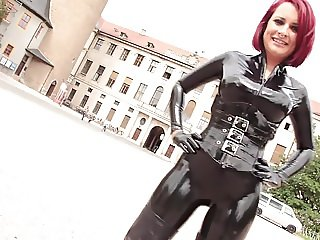 Sweet young Lady 02 - Latex and Leather