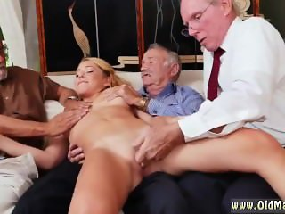 Banging blonde from behind xxx hairy mature