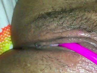 Wet and horny Latina pussy