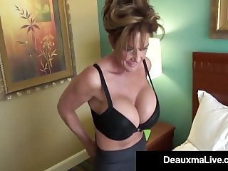 Milf Secretary Deauxma Gets Banged By Boss's Big Black Cock!