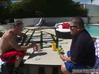 Mom compeer's daughter anal threesome daddy