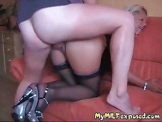 My MILF Exposed Trashy mature wife rough anal
