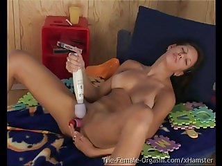 Vintage Casting Couch Teen Masturbating and Cumming