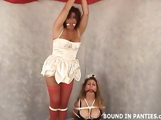 Our naughty maids need to be bound and punished