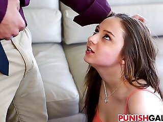 Sexy teen Elektra Rose gets punished