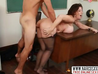 Hurt Not Mother Sara Jay In Stockings Gets Hardcore Sex