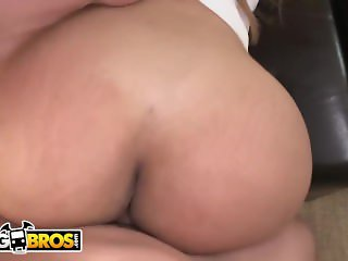 BANGBROS - Big Booty Latina MILF Maid Samantha Bell Gets PIPED