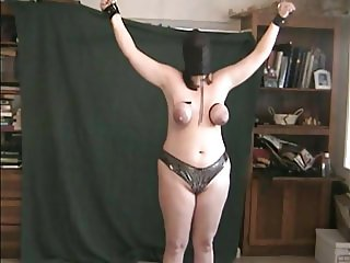 PUNISHED for getting milked at work.wmv