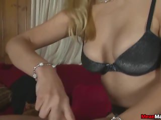 Sexy blonde masseuse