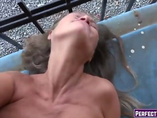Amateur Mature Sex On The Street