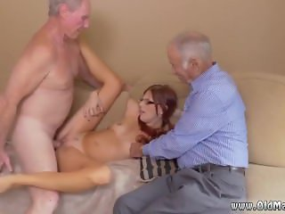 Granny sucks young hot french mature anal