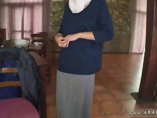 Muslim babe first time Hungry Woman Gets