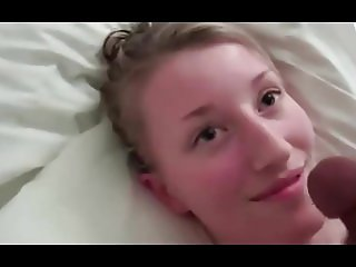 12375 Shy teen handjob with facial.mp4