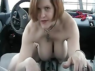 Car sex, literally...