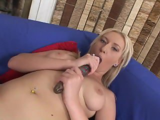 Blonde Girl With Dick In The Ass