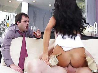 Sofi Ryan Fucks Her Cuckold Husband's Friend