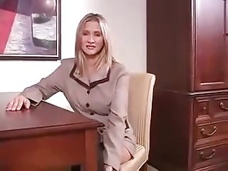 Hot Wife Rio Takes One On The Desk!