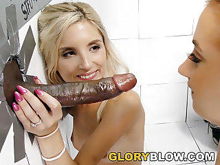 Piper Perri and Sierra Nicole Fucks BBC - Gloryhole