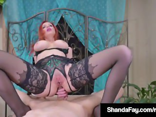 Canadian Cougar Shanda Fay Gets Hard Anal Fuck From Customer