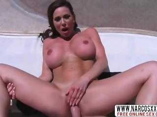 Not Step-Daughter Kendra Lust Uses Lucky Cock
