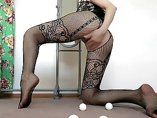 Mylene's Ping Pong Balls Fisting And Prolapse