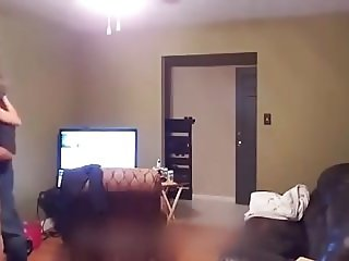 Wife fucks pizza delivery guy on a dare