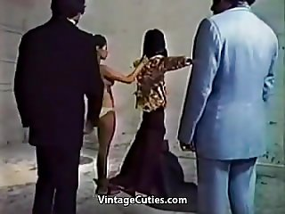 Compilation of Sexual Domination Scenes (1970s Vintage)