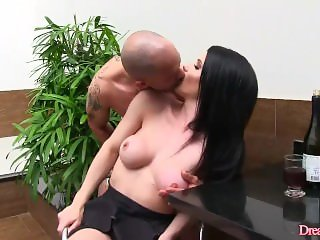 Shemale and a Guy Suck Each Others Cocks