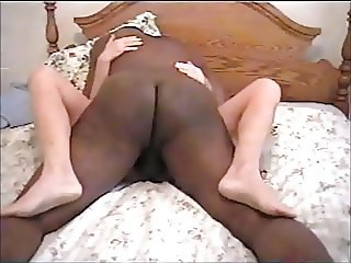 Big Black Cock cumming in wife