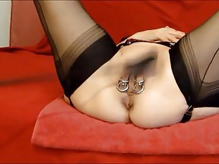 Lady Shilas Whip and Pain Fuck Session Part 1