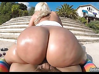 Big Juicy Ass Fucked out in Public