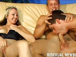 I want us to have a hot bisexual threesome