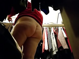 My slut BBW wife ready to get fucked by her co-worker