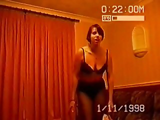 SILF and uk wife holly striptease