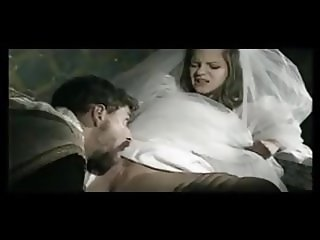 the priest analyze the big breasted bride