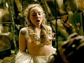 Dagny Backer Nude Sex Scene Vikings on scandalplanet.com