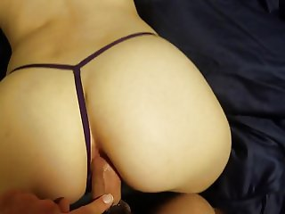 Young Anal Virgin Doesn't like it