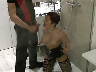 Lena-Bitch - Piss mir in meine Maulfotze - Pee into my Mouth