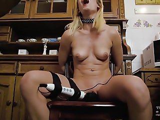 Tied girls forcced to orgasm
