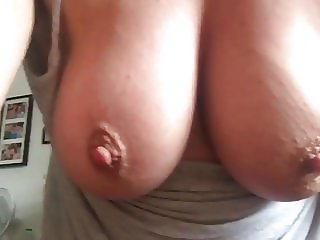 Great tits bouncing while I play with my wet pussy Feb 2018