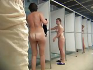 Hidden Cam: Shower Room Part 4