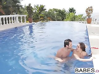 Babes - Elegant Anal - Fun Pool starring Joel and Martina Go