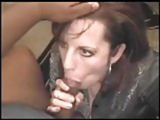 Wife sucking off black friend